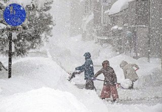 Задержка с отправкой заказов в связи с историческим снегопадом в Японии