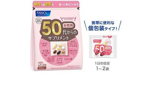 FANCL витаминно-минеральный комплекс для возраста 50+