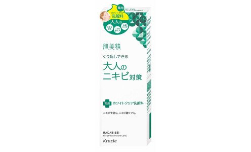KRACIE Hadabisei Acne Care White Clear Wash — пенка для умывания