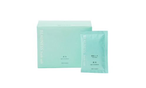 MENARD Beauness Spa Essence Medicated Bath Salt — домашний онсен, соль для ванны