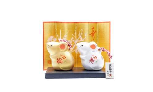 YAKUSHIGAMA Символ года 2020 — крысы на счастье и удачу