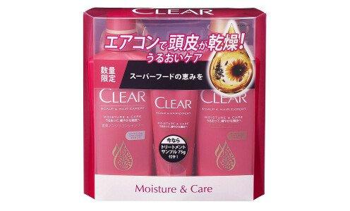 CLEAR Moisture&Care Set — набор ухода за кожей головы и волосами, набор по супер цене!