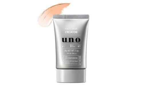 SHISEIDO UNO Face Color Creator — ультралегкий Bb крем с защитой от солнца