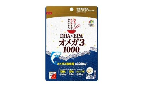 UNIMAT RIKEN DHA&EPA Omega 3 1000 — комплекс омега-3 кислот