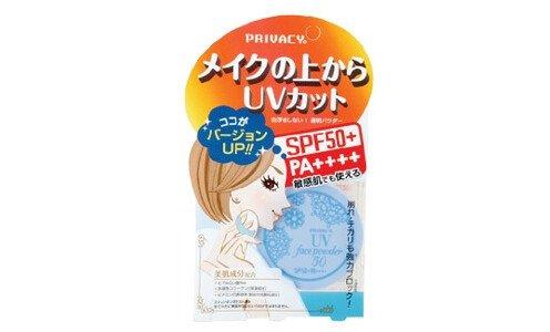 PRIVACY UV Face Powder SPF50+ — солнцезащитная рассыпчатая пудра