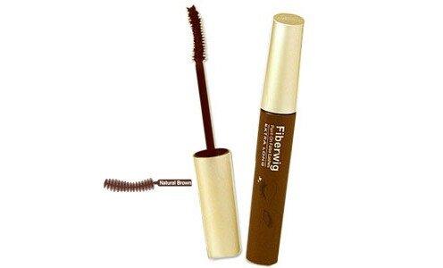 DEJAVU Fiberwig Extra Long Mascara (natural brown) — растворимая водой удлиняющая тушь для ресниц.