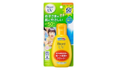 KAO Biore UV Nobinobi Kids Milk — санскрин для детей.