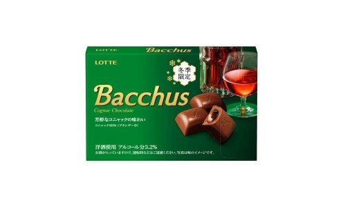 LOTTE Bacchus — шоколадные конфеты с коньяком