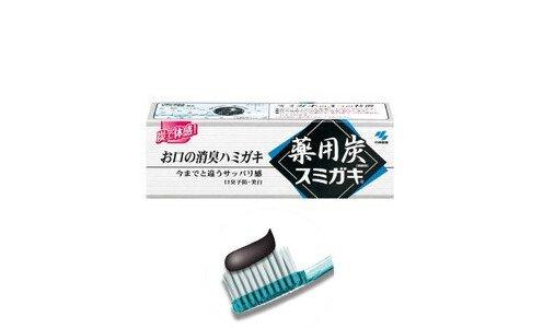KOBAYASHI Sumigaki — зубная паста с древесным углем.