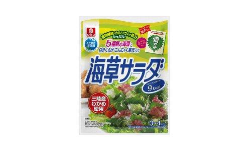 RIKEN Kaiso Salad — набор для салата из разноцветных водорослей с заправкой