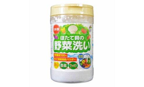 UNIMAT RIKEN Scallop Vegetable Washing — порошок из раковин морского гребешка для экологичного мытья овощей, фруктов и посуды