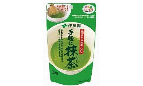 ITOEN Tegaru ni Matcha — пудровый чай маття.
