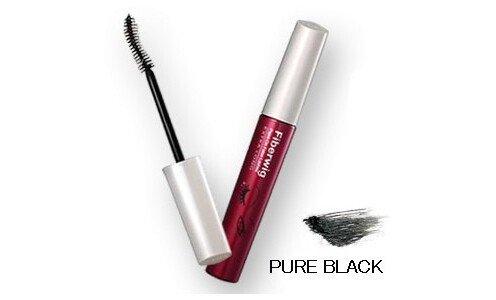 DEJAVU Fiberwig Extra Long Mascara (pure black) — растворимая водой удлиняющая тушь для ресниц.