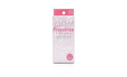 PROPOLINSE Sakura — эликсир для зубов с ароматом сакуры, мини упаковка
