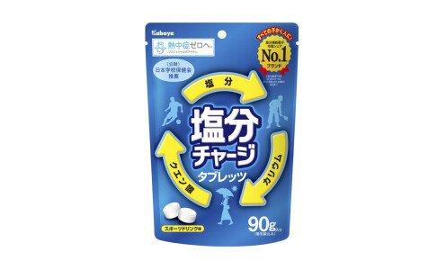KABAYA Enbun Charge Tablets — драже для минерального баланса при обильном потоотделении