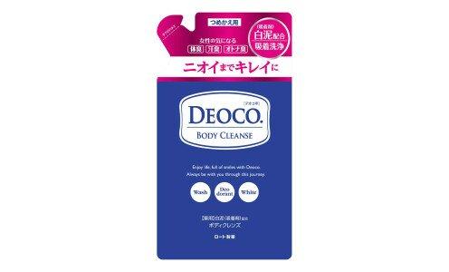 ROHTO Deoco Medicated Body Cleanse — гель для душа против возрастного запаха пота, сменный блок