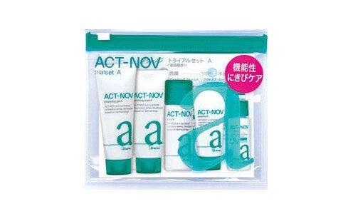NOV AC Active trial set  — набор миниатюр косметики против прыщей у взрослых.