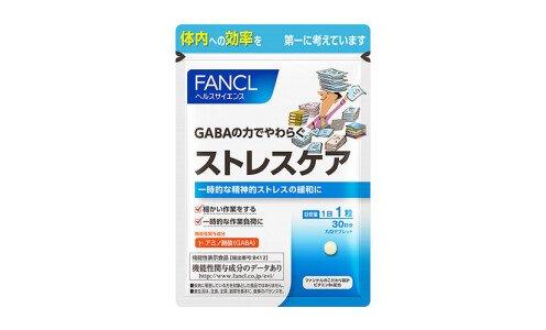 FANCL Stress Care — ГАМК нутриент для снижения стресса и артериального давления
