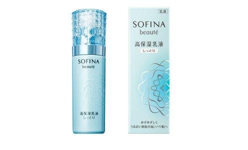 KAO Sofina Beaute Deep Moisture Emulsion — глубоко увлажняющая эмульсия