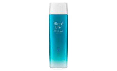 KAO Biore Aquarich Watery Gel — санскрин с максимальной защитой, увеличенная упаковка по супер цене