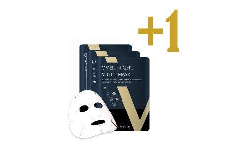 AMARANTH Over Night V Lift Mask — лифтинг маска для полного вечернего ухода, 4 по цене 3-х