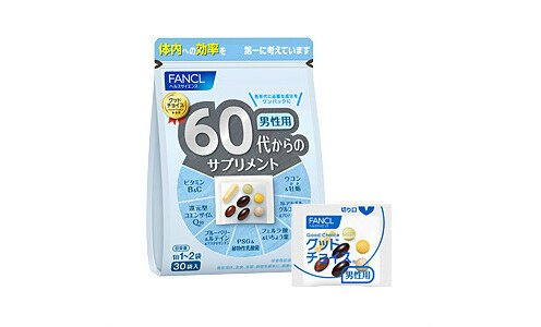 FANCL витаминно-минеральный комплекс для возраста 60+
