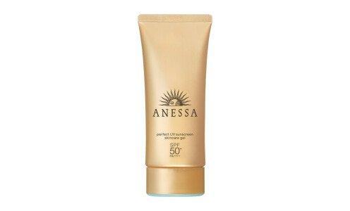 SHISEIDO Anessa Perfect UV Skincare Gel SPF 50+/PA++++ - солнцезащитный гель для лица и тела