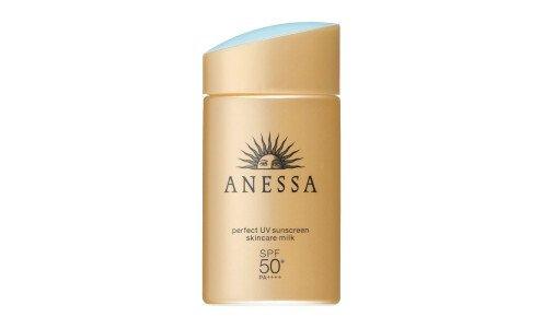 SHISEIDO Anessa Perfect UV Skincare Milk SPF 50+/PA++++ - санскрин для лица и тела