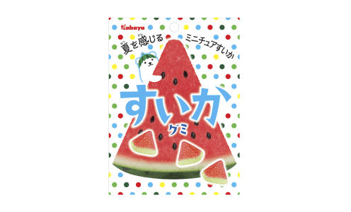 KABAYA Suika Gummy — арбузный мармелад