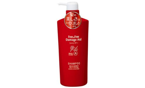LION Free&Free Damage Aid Shampoo — шампунь для поврежденных волос, 500 мл