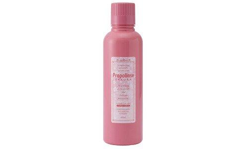 PROPOLINSE Sakura — эликсир для зубов с ароматом сакуры, без спирта