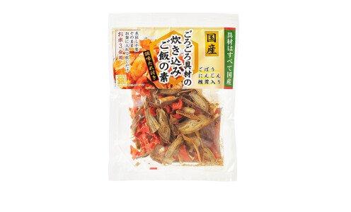 KANENISHIKI Takikomi Rice Mix — смесь кореньев и грибов для варки риса