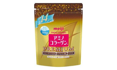 MEIJI Amino Collagen Premium — коллагеновая смесь на 14 дней