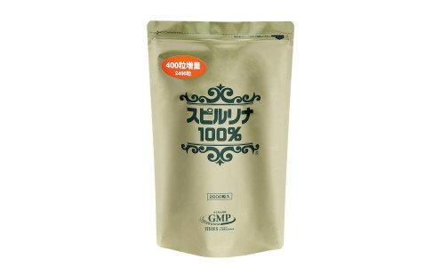 JAPAN ALGAE Spirulina 100% — спирулина в таблетках