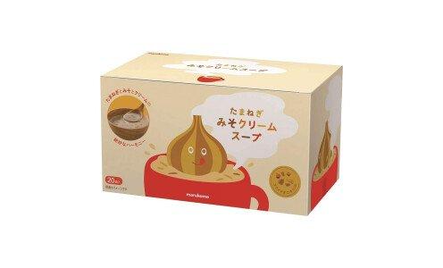 MARUKOME Tamanegi Miso Cream Soup — луковый кремовый мисо-суп, 20 порций