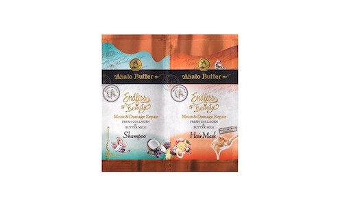 AHALO Butter — пробники шампуня и маски для волос