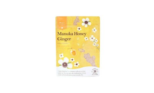 TREE OF LIFE Tasty Herb Tea Manuka Honey Ginger — травяной чай с имбирем и медом мануки