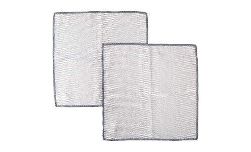MARNA Microfiber Glass & Mirror Cleaning Cloth — салфетки для стекла из микрофибры, 2 шт.