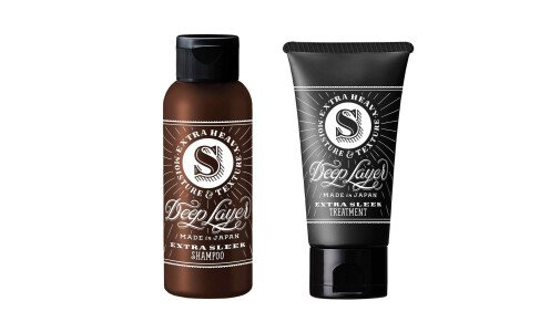 DEEP LAYER Shampoo and Treatment Mini Set  —  мини-набор, шампунь и бальзам для волос