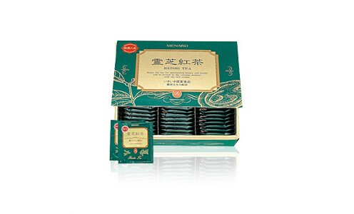 MENARD Reishi Tea — черный чай с экстрактом гриба рейши  (75 пакетиков)