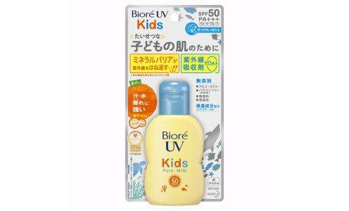 BIORE UV Kids Pure Milk — детское солнцезащитное молочко