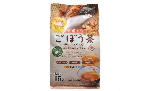 NOMURA Burdock Tea — чай из корня лопуха с обжаренным рисом