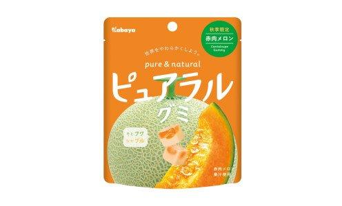 KABAYA Pureral Gummy — фруктовый мармелад с дыней