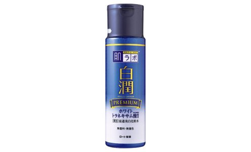 HADA LABO Shirojun Premium Lotion — лосьон для фарфоровой кожи