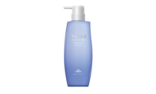 MILBON Aujua Scalp Care Growsive Shampoo — шампунь против седины, 500 мл