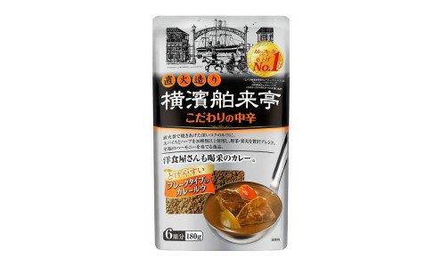 EBARA Yokohama Hakuraitei Curry Flakes — хлопья для приготовления карри