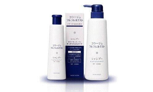COLLAGE Furufuru Shampoo, Medicated — антигрибковый шампунь для жирных волос, 400 мл.
