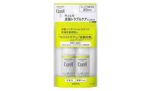KAO Curel Trouble Care — мини-набор серии для проблемной жирной кожи.