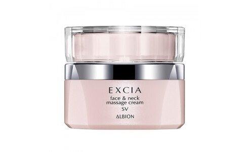 ALBION Excia AL Renewing Face and Neck Massage Cream — массажный крем