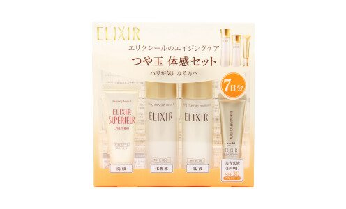 SHISEIDO Elixir Superieur Trial Set — набор миниатюр